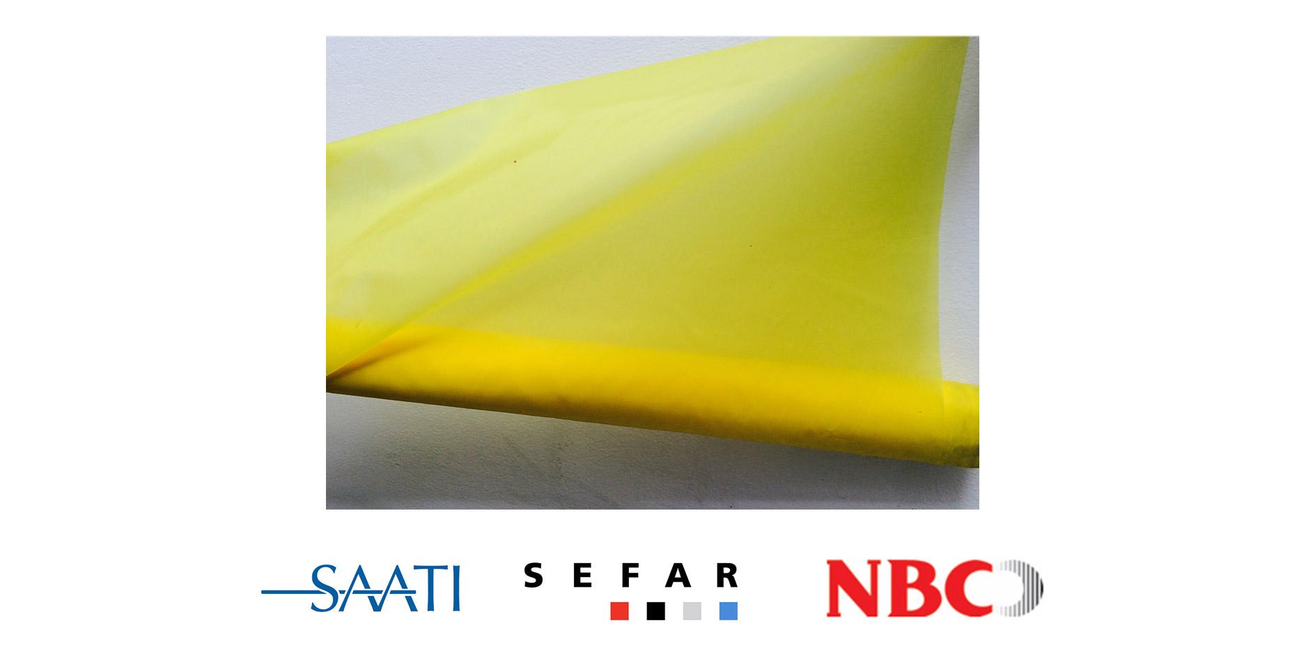 Nylon Amarillo - Saati - Sefar - NBC - Sedas y Tejidos - Prisma Screen Digital - Bogota