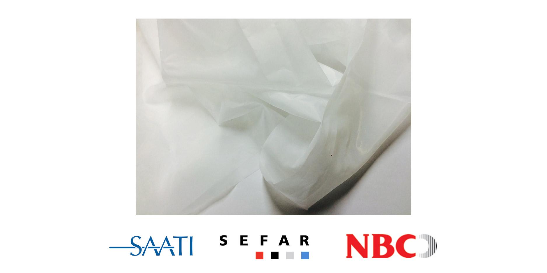 Poliester Seda Blanco - Saati - Sefar - NBC - Sedas y Tejidos - Prisma Screen Digital - Bogota